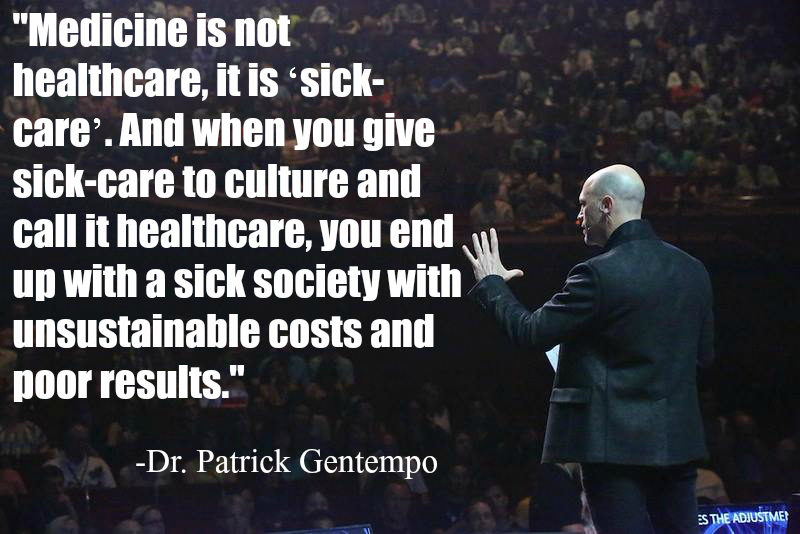 Healthcare vs Sickcare