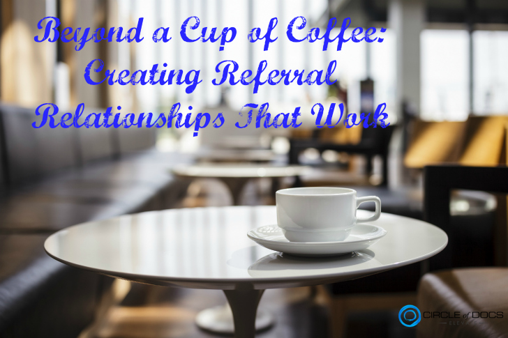 Chiropractic marketing coffee