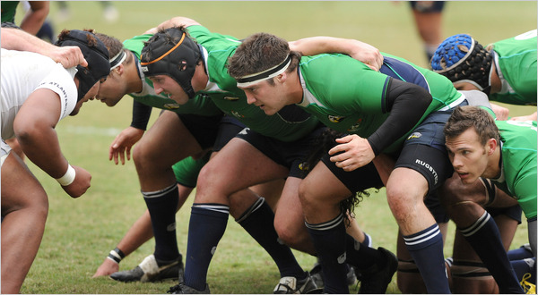 Chiropractic College's Rugby Team Is Good for Business