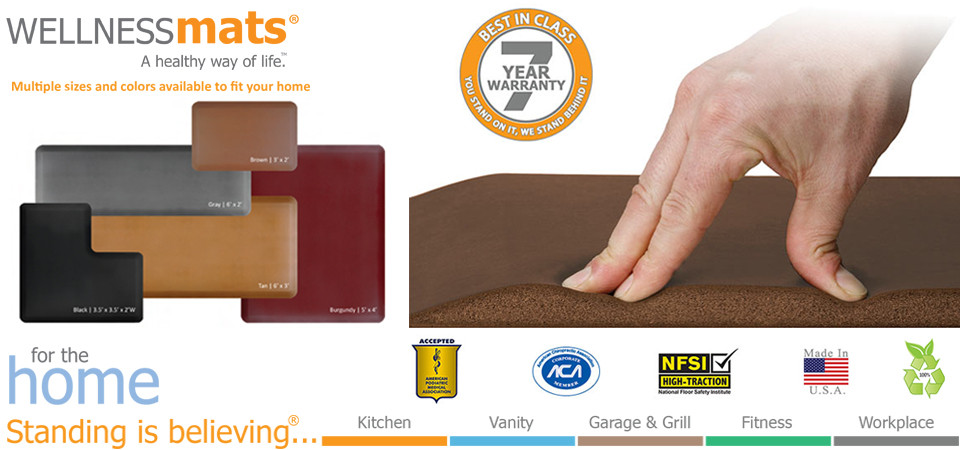 granite kitchen smooth compressed kitchens copper original fatigue by mats from mat x everything wellness anti usa