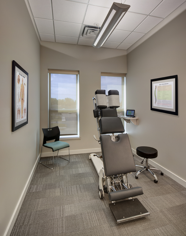 How One Chiropractor Created The Perfect Office Space