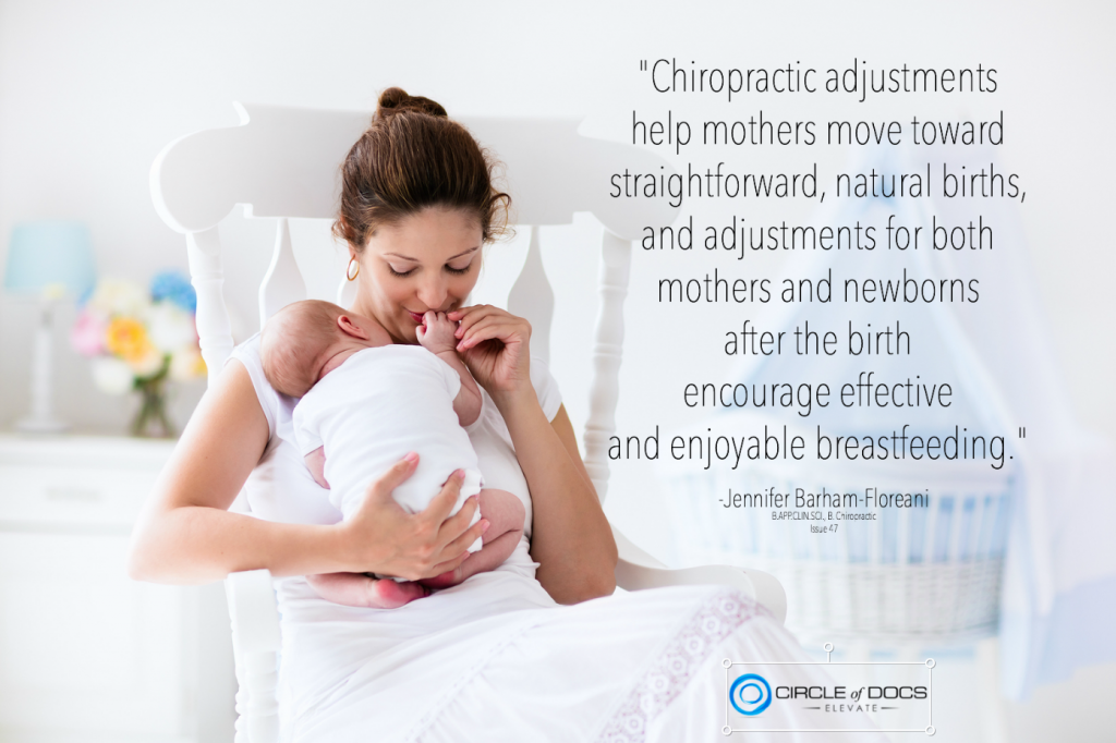 Chiro helps mothers