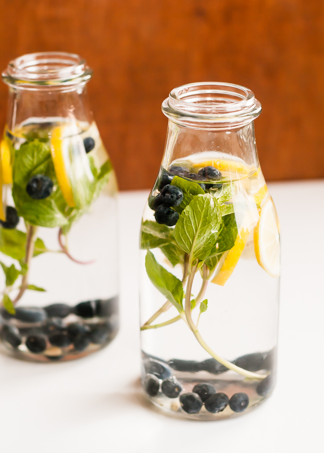 blueberry-lemon-mint-infused-water