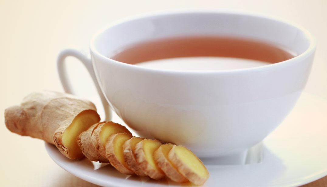 Чай с имбирем для ребенка в год