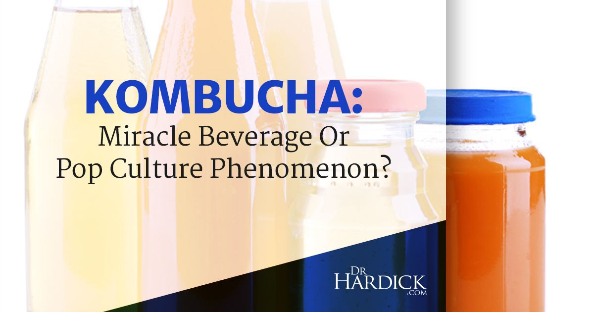 Kombucha: Miracle Beverage or Pop Culture Phenomenon